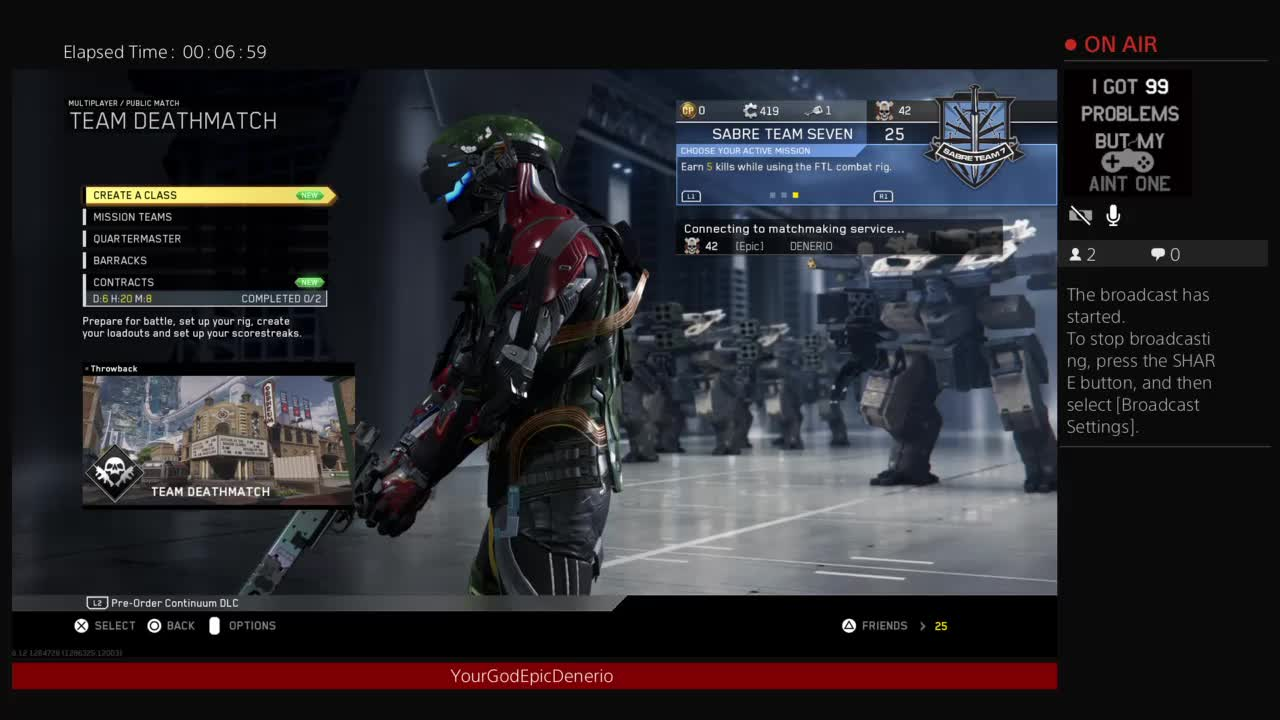 Cod iw matchmaking problems