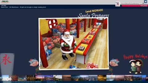 12 to 24 hours Happy Holidays stream Santa Tracker NORAD #TeamReaper