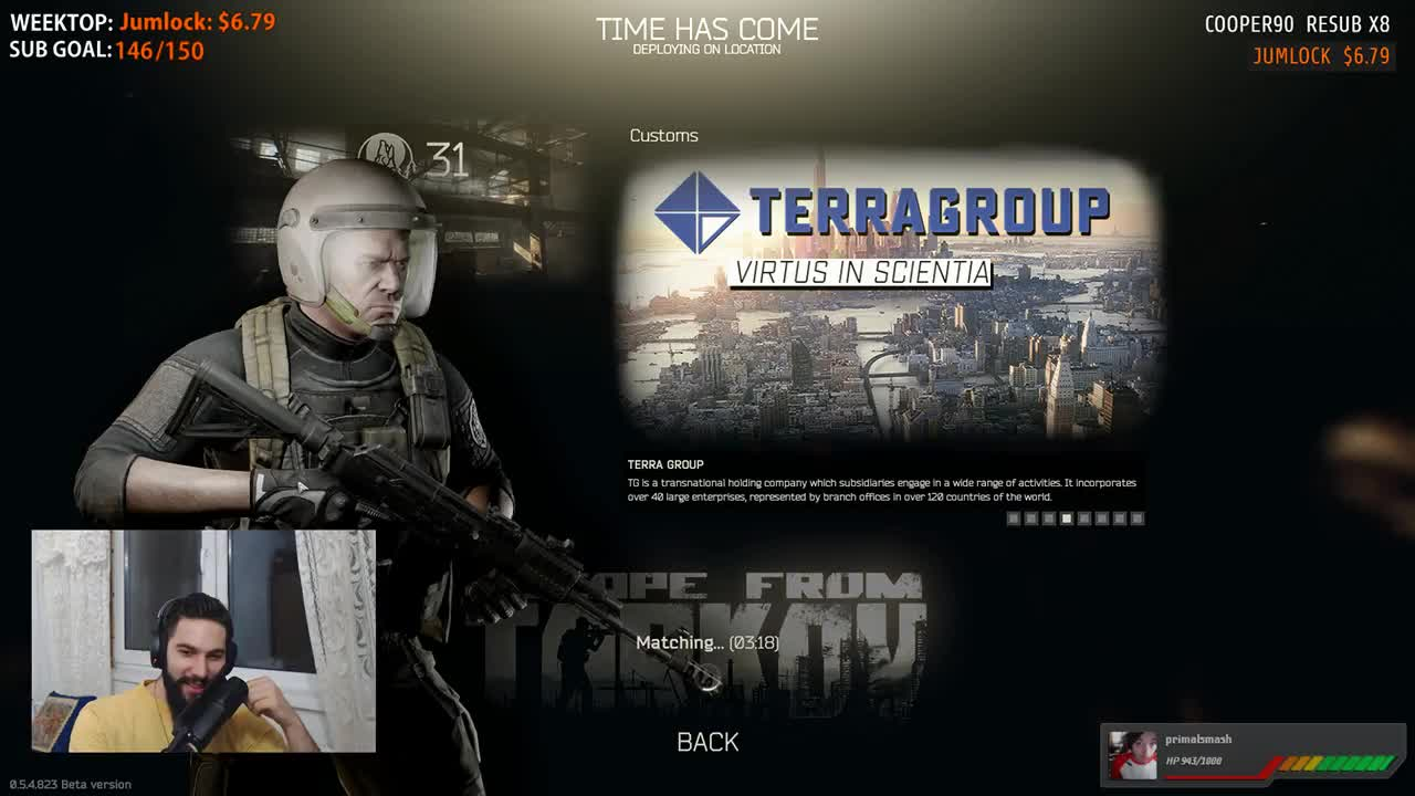escape from tarkov matchmaking time find email address linked to dating sites