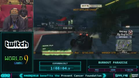 Burnout Paradise | Most Viewed - All | LivestreamClips