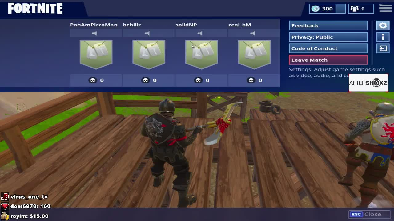 - how to leave match in fortnite pc