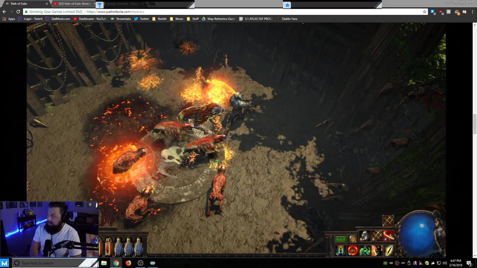PoE: Bestiary - The first Blood Sacrifice Altar on HC - Twitch