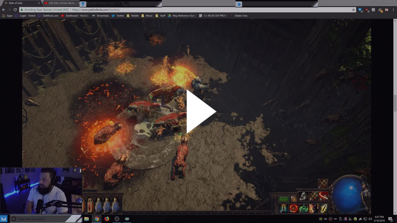 Poe Menagerie Crafting