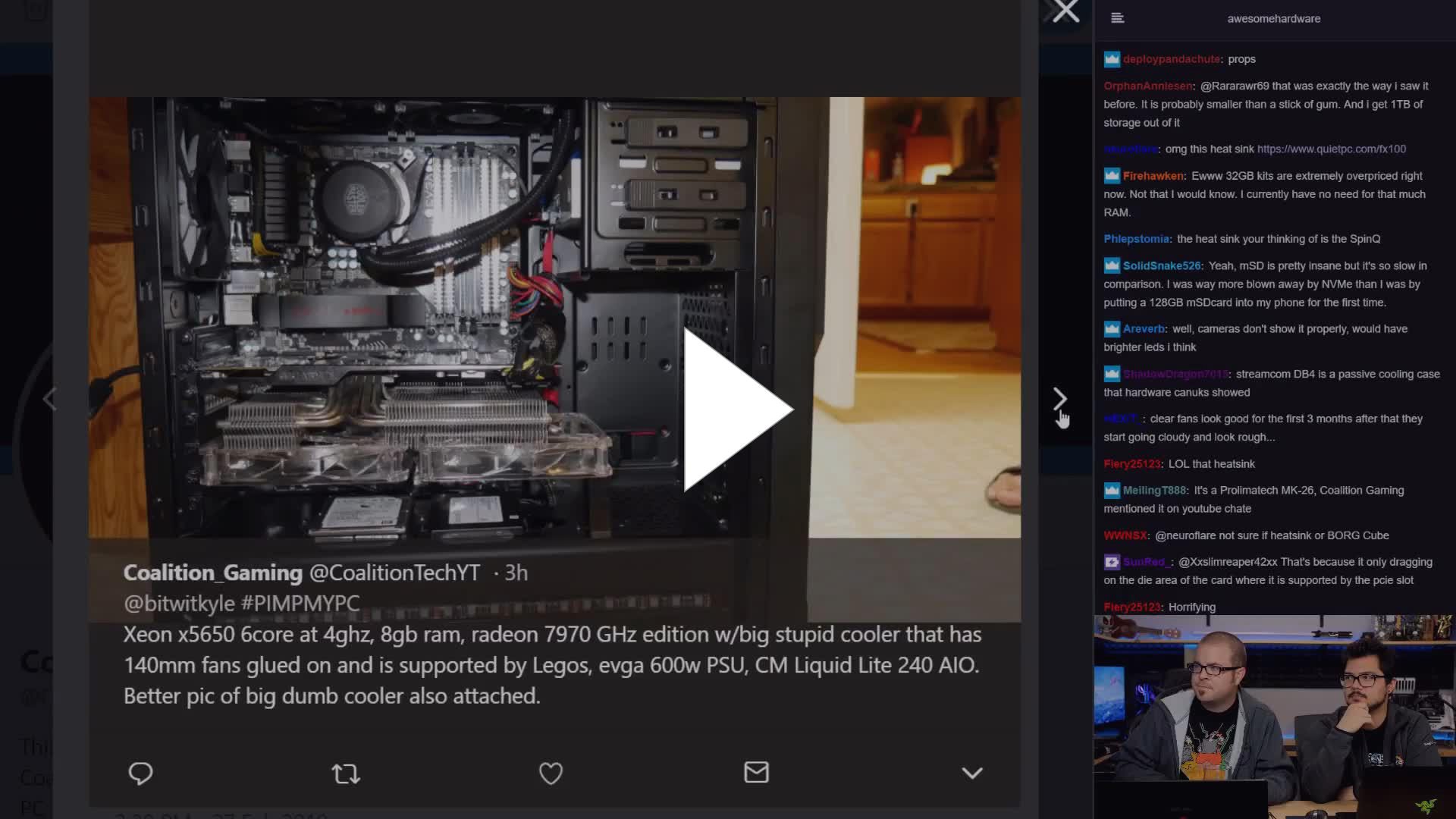 Coalition Gaming $300 Xeon build Clip 3 for #PimpMyPC - Twitch