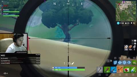 Tiro de Sniper 273M!!!