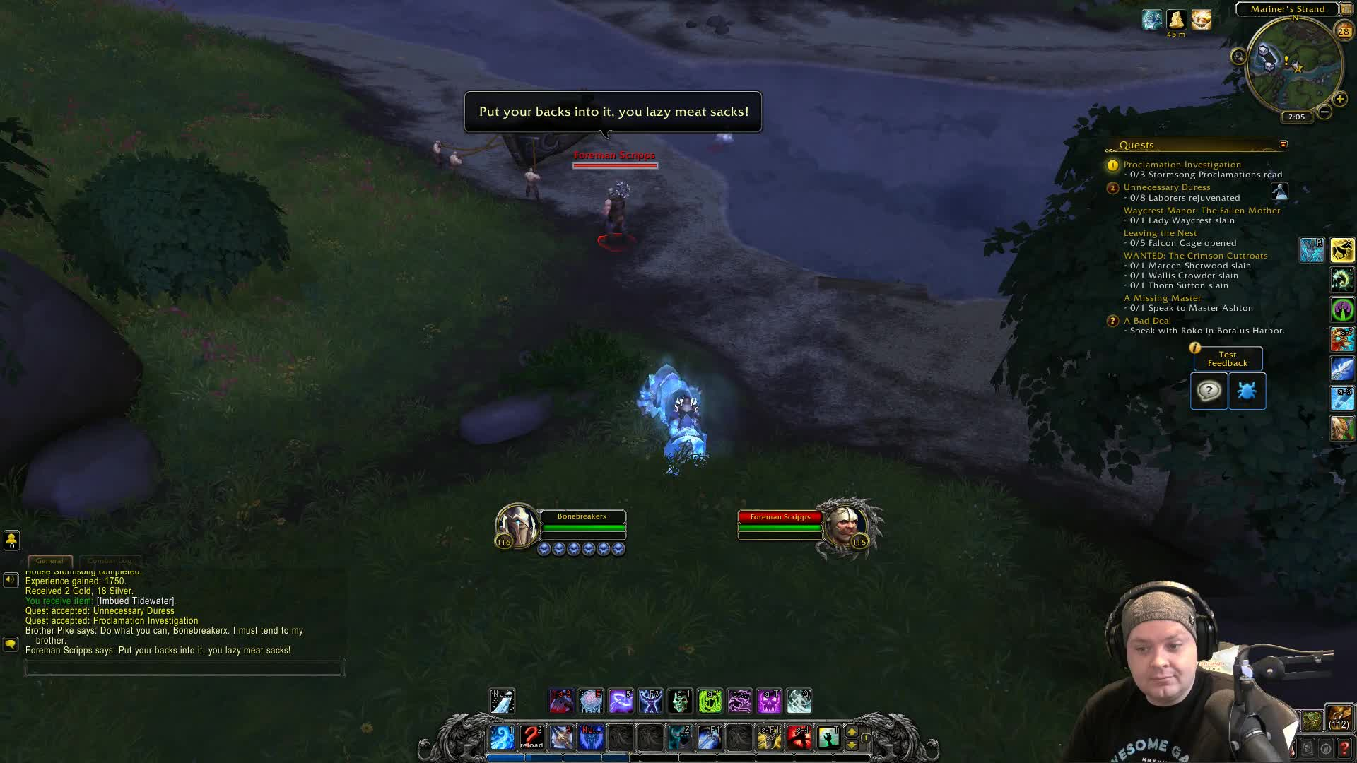 4 5 seconds to get going BfA GCD change - Twitch
