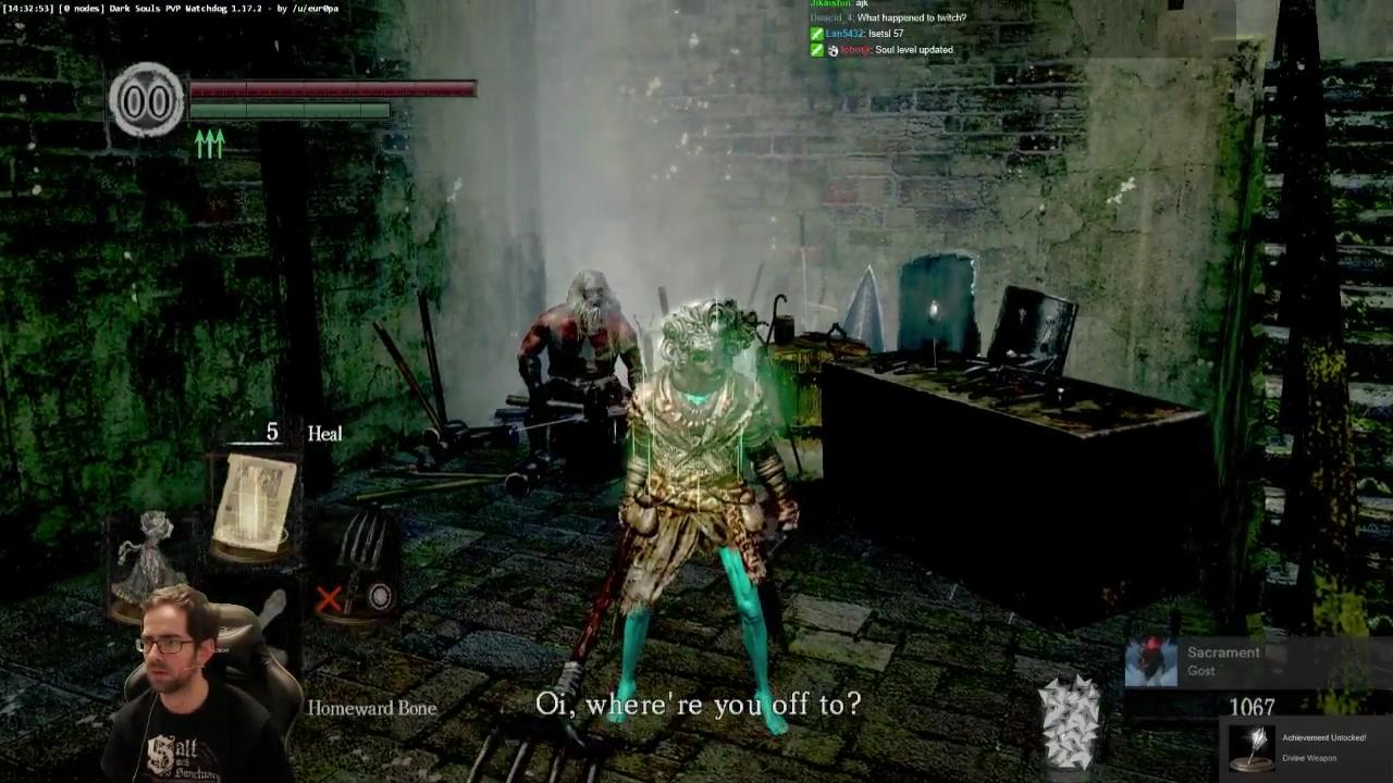 PC] DS1 Plow Only, Divine Heal Run | !LoBRO Souls Tonight