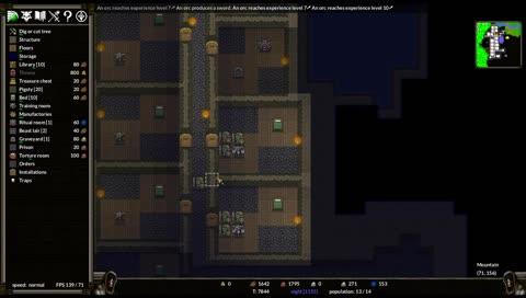 Dwarf dungeon keeper fortress