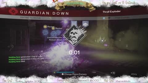 2 Blades & A Failed Dream. oh yea, & a Warlock.