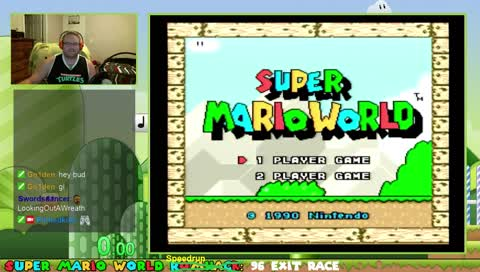 SMW 96 exit race against RainDropDry. He's going to agdq!!