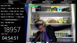 Dabbing 100,000 times, come chat and be a part of history