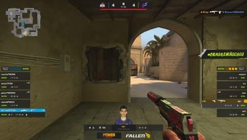 Raafa vence clutch 1v1 contra dgt no bomb A