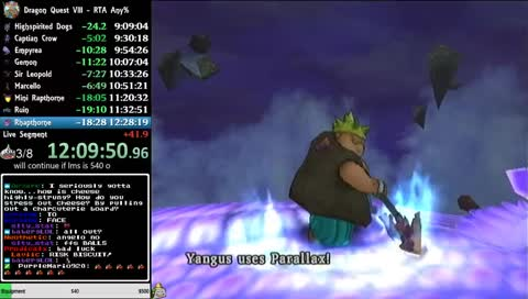 Creativeelys top dragon quest viii journey of the cursed king dq8 rta speedrun ps2 gumiabroncs Choice Image