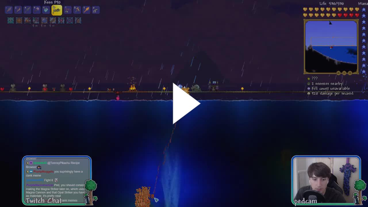 🐧 Calamity Mod - 22 New Bosses, 700+ New Items! - Twitch