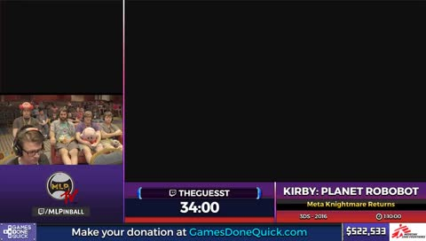 Summer Games Done Quick 2017 benefiting Doctors Without Borders - Kirby: Planet Robobot