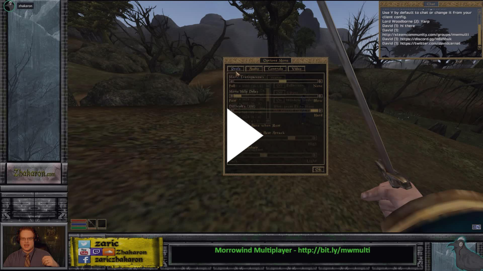 Morrowind Multiplayer Test & Developer Discussion (TES3MP Project