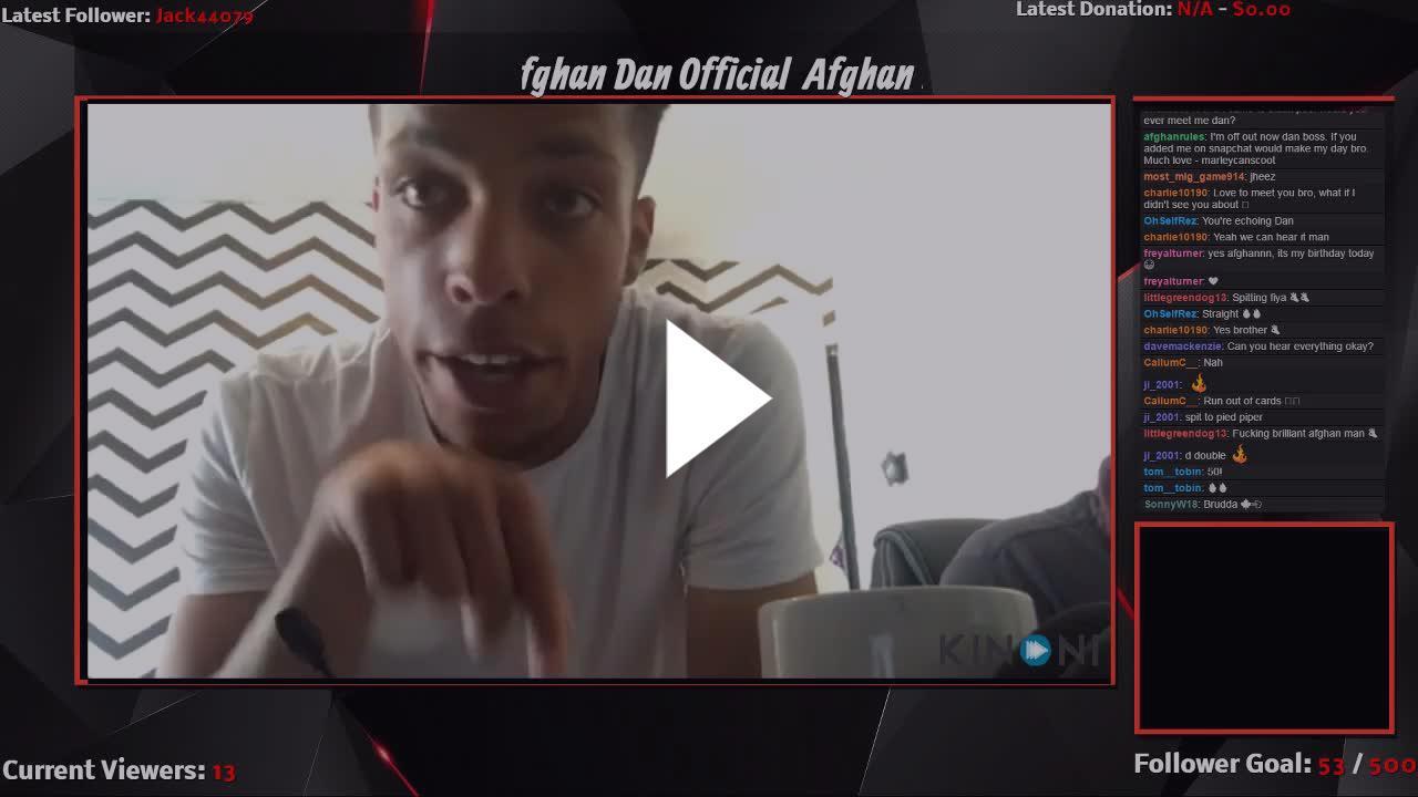 Afghan Dan twitch