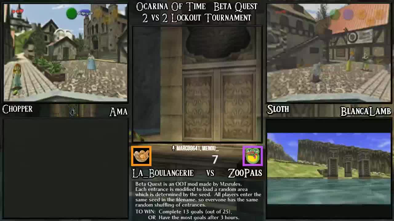Ocarina Of Time Bet Quest 2v2 Tournament  Losers Bracket