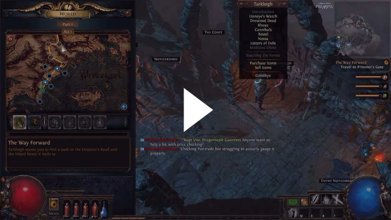 New beginnings PoE with PartyPancake - Twitch