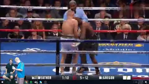MAYWETHER V. CONNOR FIGHT!