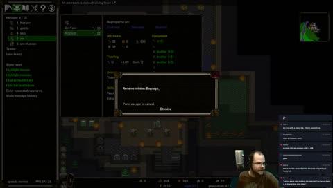 KeeperRL Alpha 23 Stream