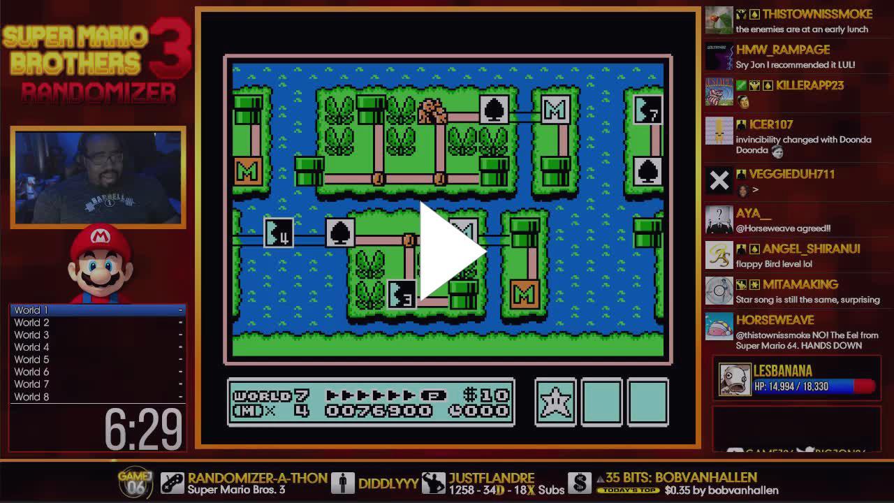 RANDOMIZER-A-THON] I'm Back and Alive! - Mega Man 2 / Mario