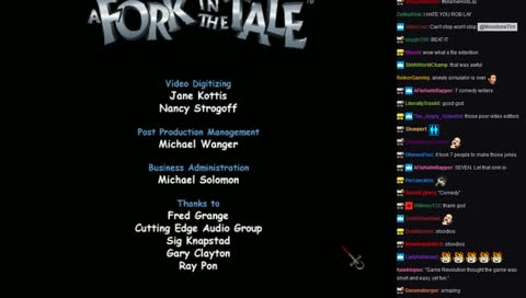 "The 90s FMV Choose-Your-Own-Adventure Game, ""A Fork in the Tale!"""