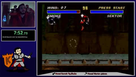 Mortal Kombat 3 SNES Speedruns