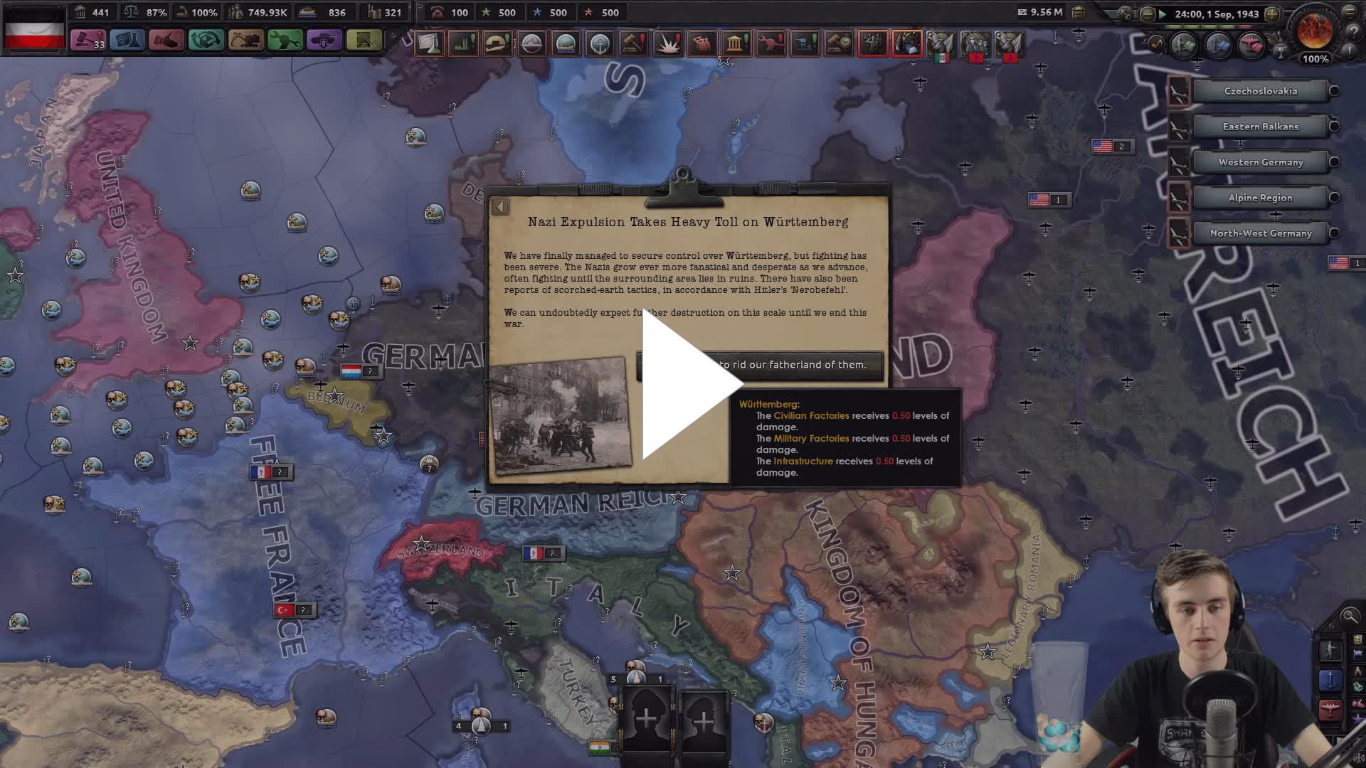 HOI4 1 5 2 New Update & Mods - Playing with Puppets (Skyrim