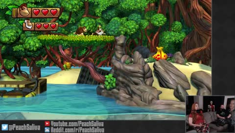 Ruby Weapon Hour Donkey Kong Country Tropical Freeze Peachsaliva