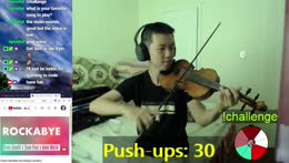 5 Pushups for every song I played | @TSM_Violin on Twitter
