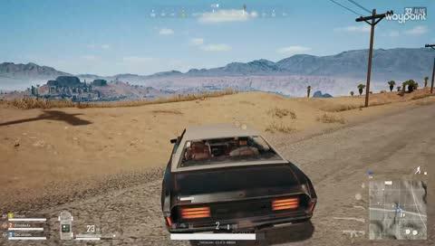 車子不想被射爆 只好自己來~