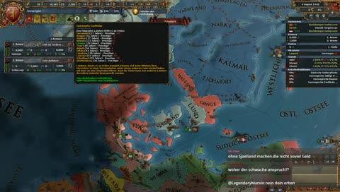 Europa Universalis IV Norwegen (Norwegian Wood?)