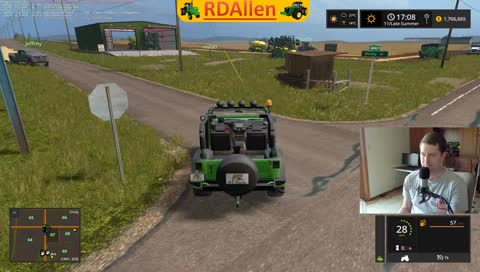Sodbusters Multiplayer, How Much Green? FS17 RDAllen Live 06 17 2018