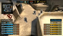 RERUN - CS:GO - Heroic vs. Natus Vincere [Mirage] Map 3 - Group A Round 2 - ESL Pro League Season 7 Finals - Dallas 2018