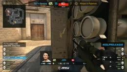 RERUN - CS:GO - OpTic Gaming vs. Ninjas in Pyjamas [Mirage] - Map 1 - Group B LB Round 1 - ESL Pro League Season 7 Finals