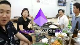 Eating Food w/ My Family. Dad, Mom, Grandma [Korea] !Social