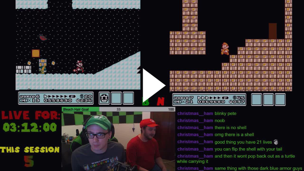 Brialdo - Super Mario Race!!! 4 games 10+ hour stream lets