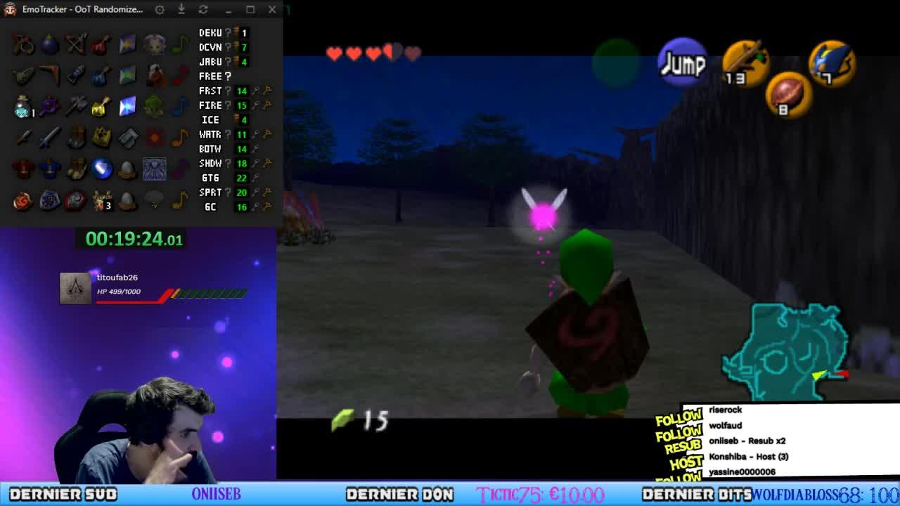 KCNecro - [Live FR] Zelda OOT Randomizer Tokensanity BIG