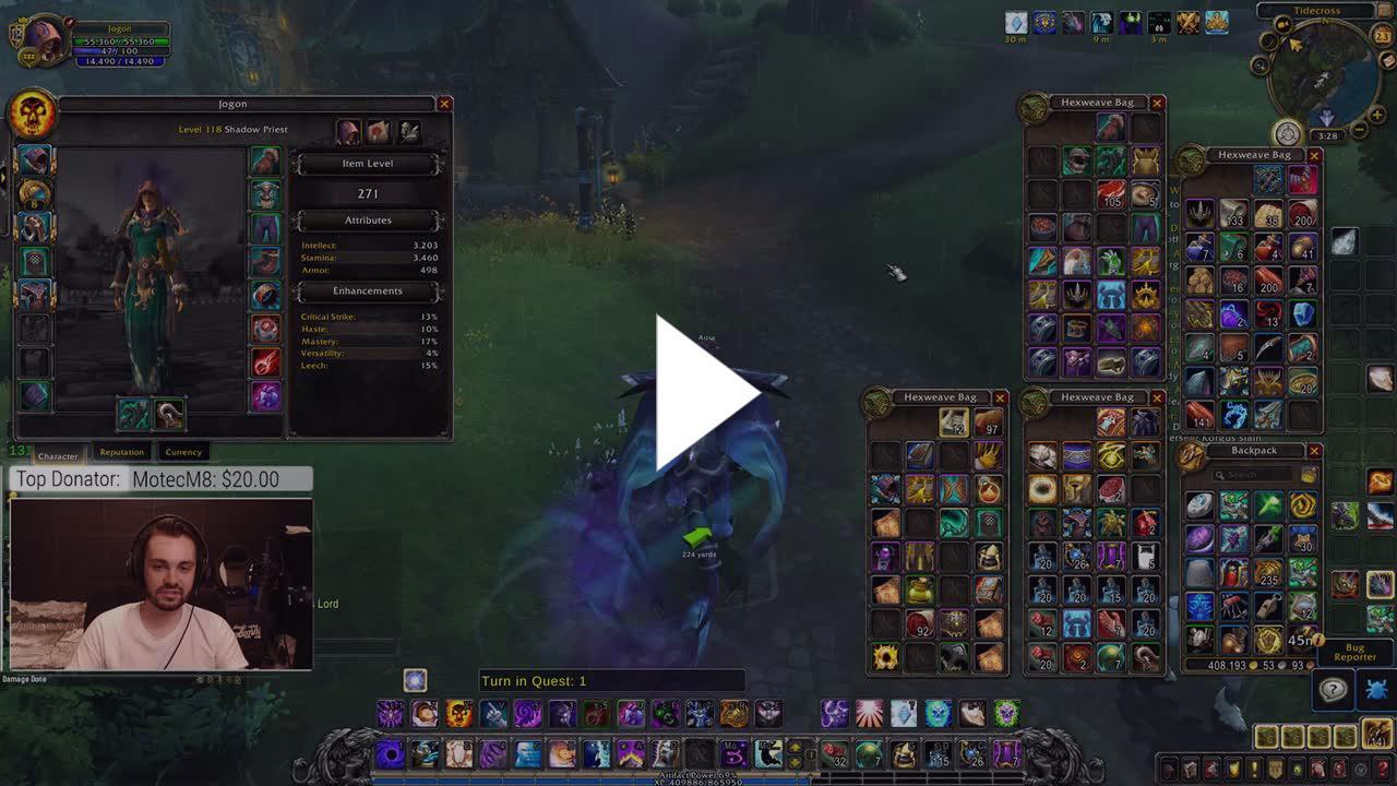 Hydramist - Hydra - BFA LEVELLING Beta - Twitch