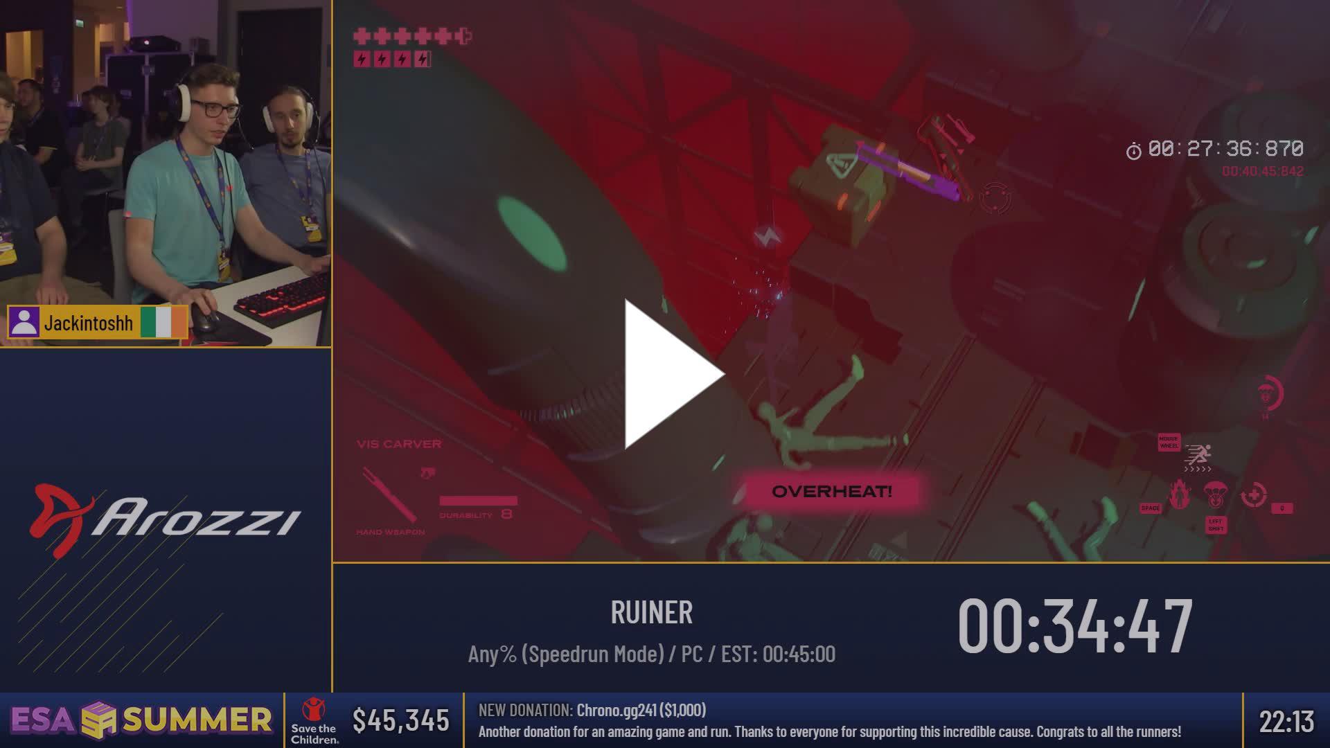 ESAMarathon2 - Cheat engine :) - Twitch