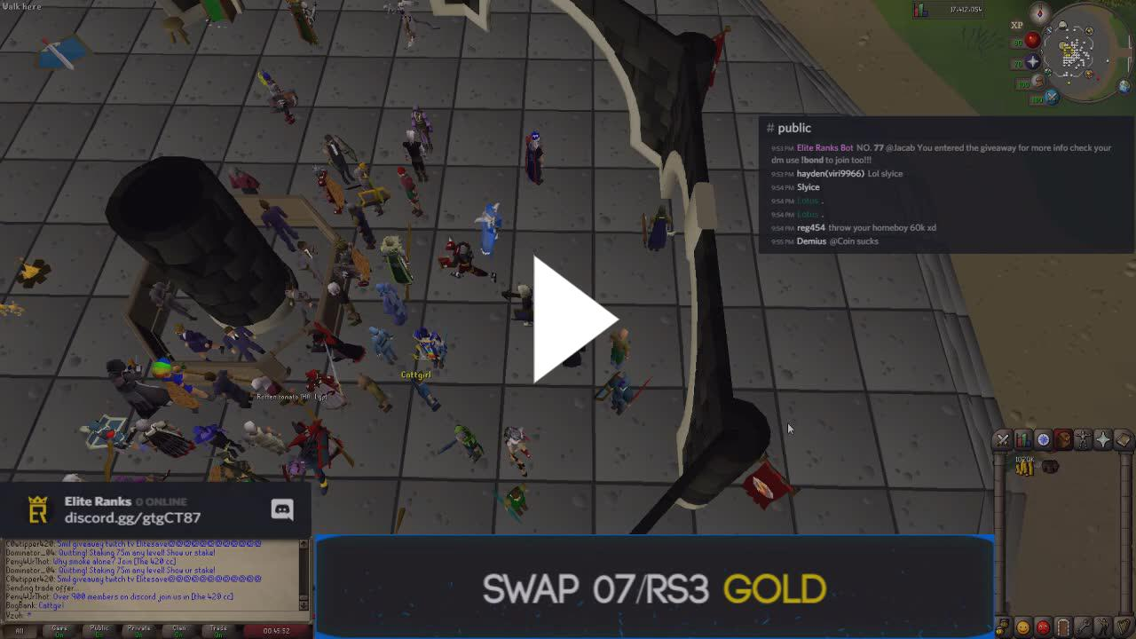 EliteSave - Daily RS3 and 07 Giveaways! Join Our Discord