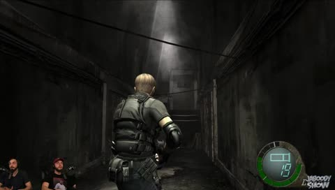 Top resident evil 4 clips twitchmetrics 2 grown men get scared aloadofball Choice Image