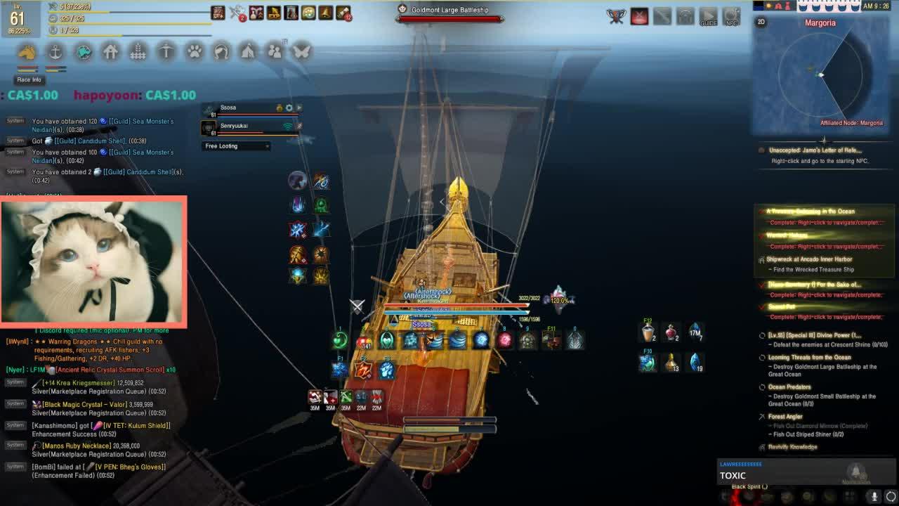 Goldmont large battleship knowledge