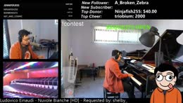 Symphonic live learnt looped music by ear