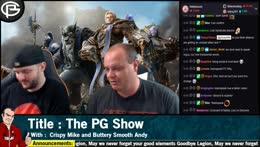 The PG Show - Goodbye Legion