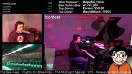 Symphonic live learnt looped music by ear with the Most Keyboards On Twitch