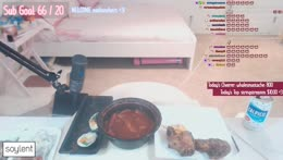 fried chicken, spicy rice cakes, and spam kimbap :)