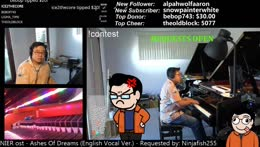 Symphonic live learnt looped music by ear with TMKOT :)