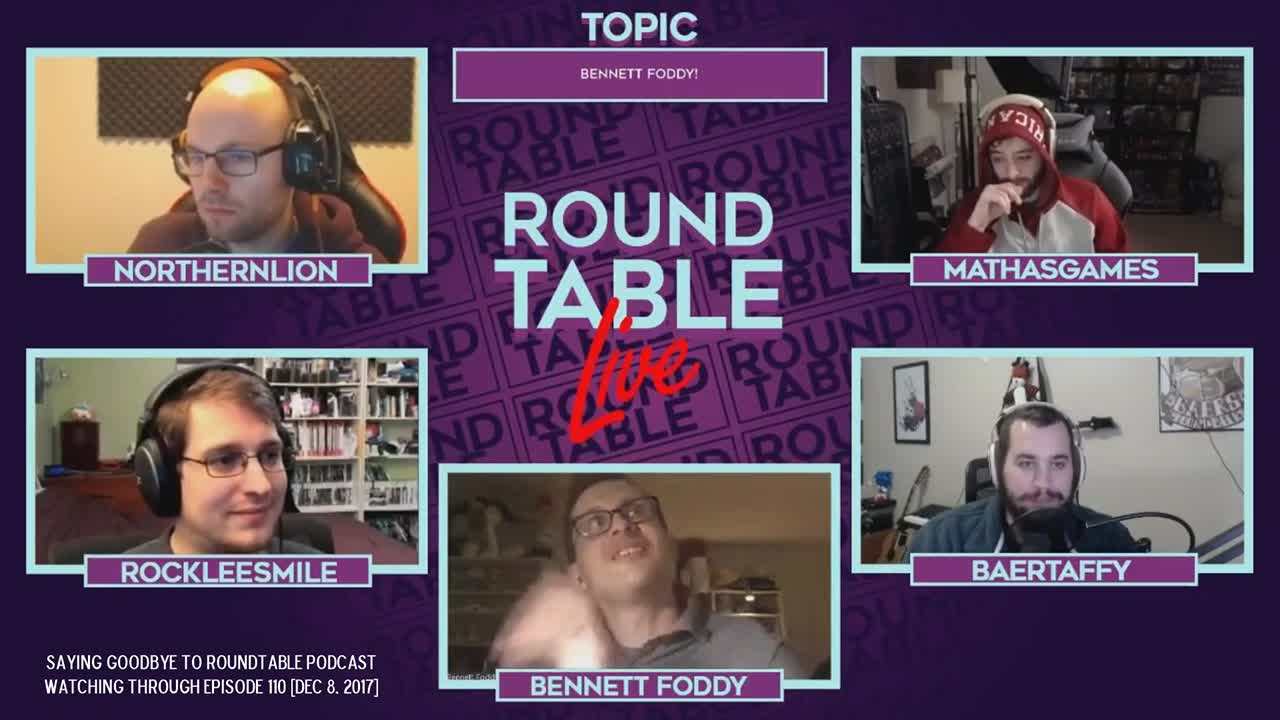 Round Table Podcast.Rockleesmile Remembering Roundtable Podcast Episode 110 Ft